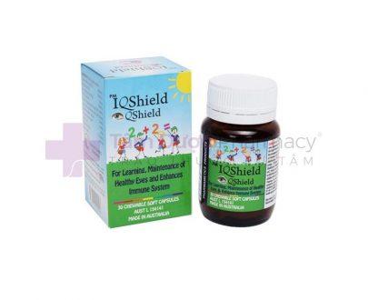 IQShield - Thuốc bổ mắt, giúp tăng cường sức khỏe hệ miễn dịch, mắt và hệ thần kinh ở trẻ em.