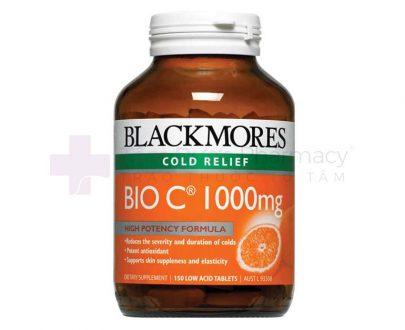 BLACKMORES BIO C 1000MG - Bổ sung vitamin C, tăng cường sức đề kháng